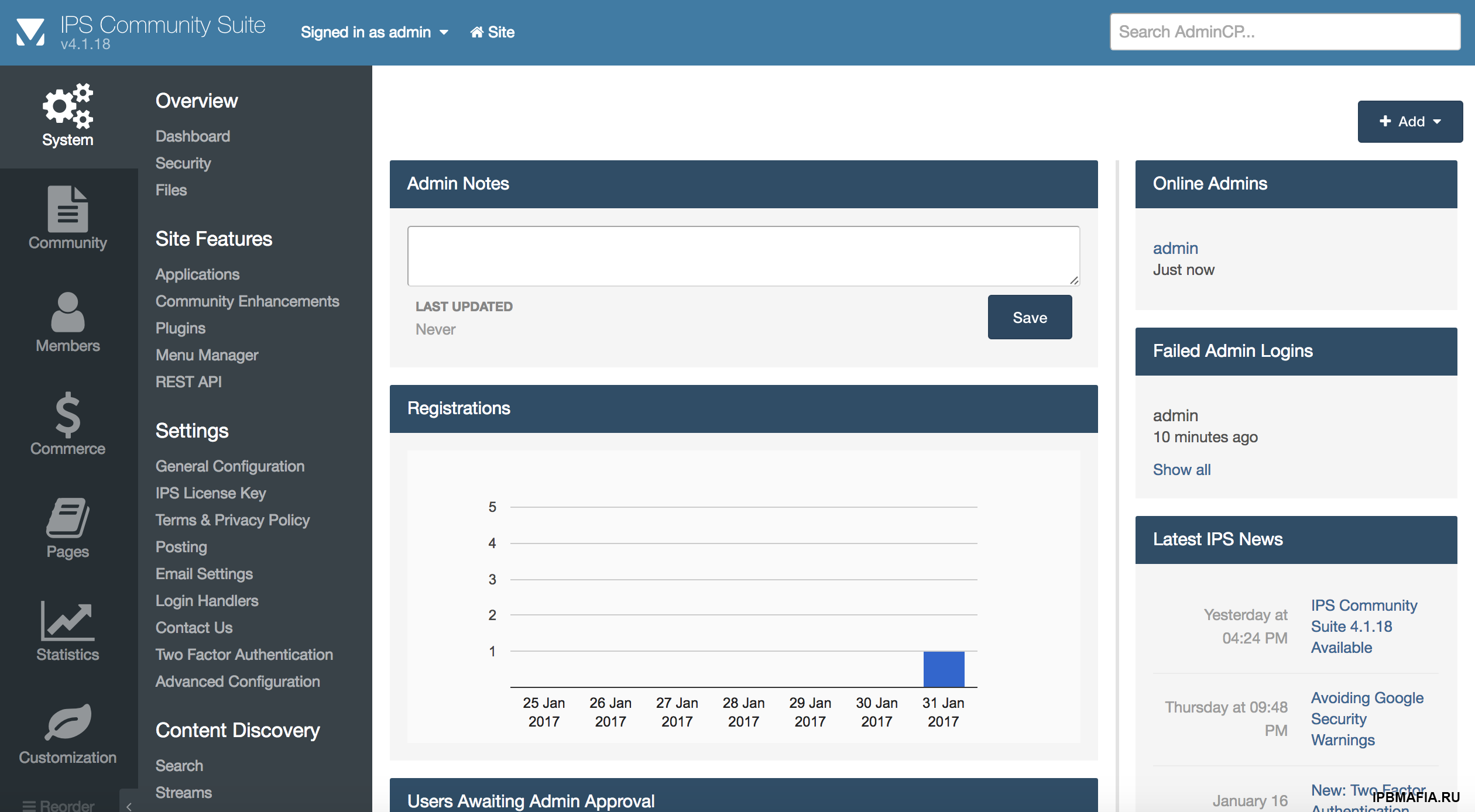 IPS Community Suite 4.1 Nulled
