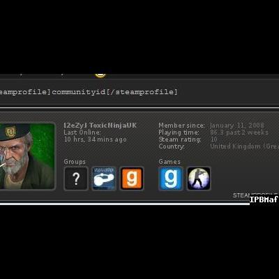 SteamProfile BBCode 1.0.0