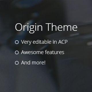 Origin Theme 2.1