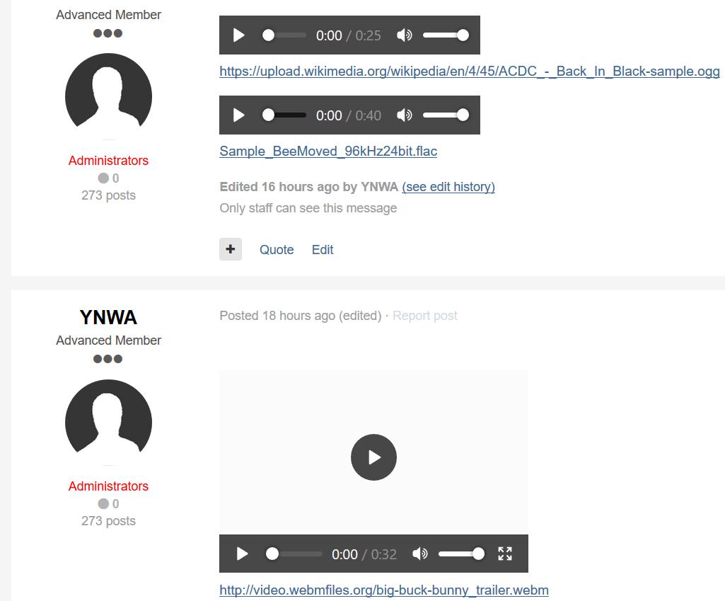 (NE) HTML5 Audio/Video Player 1.0.3